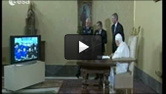 Pope Chats with Astronauts
