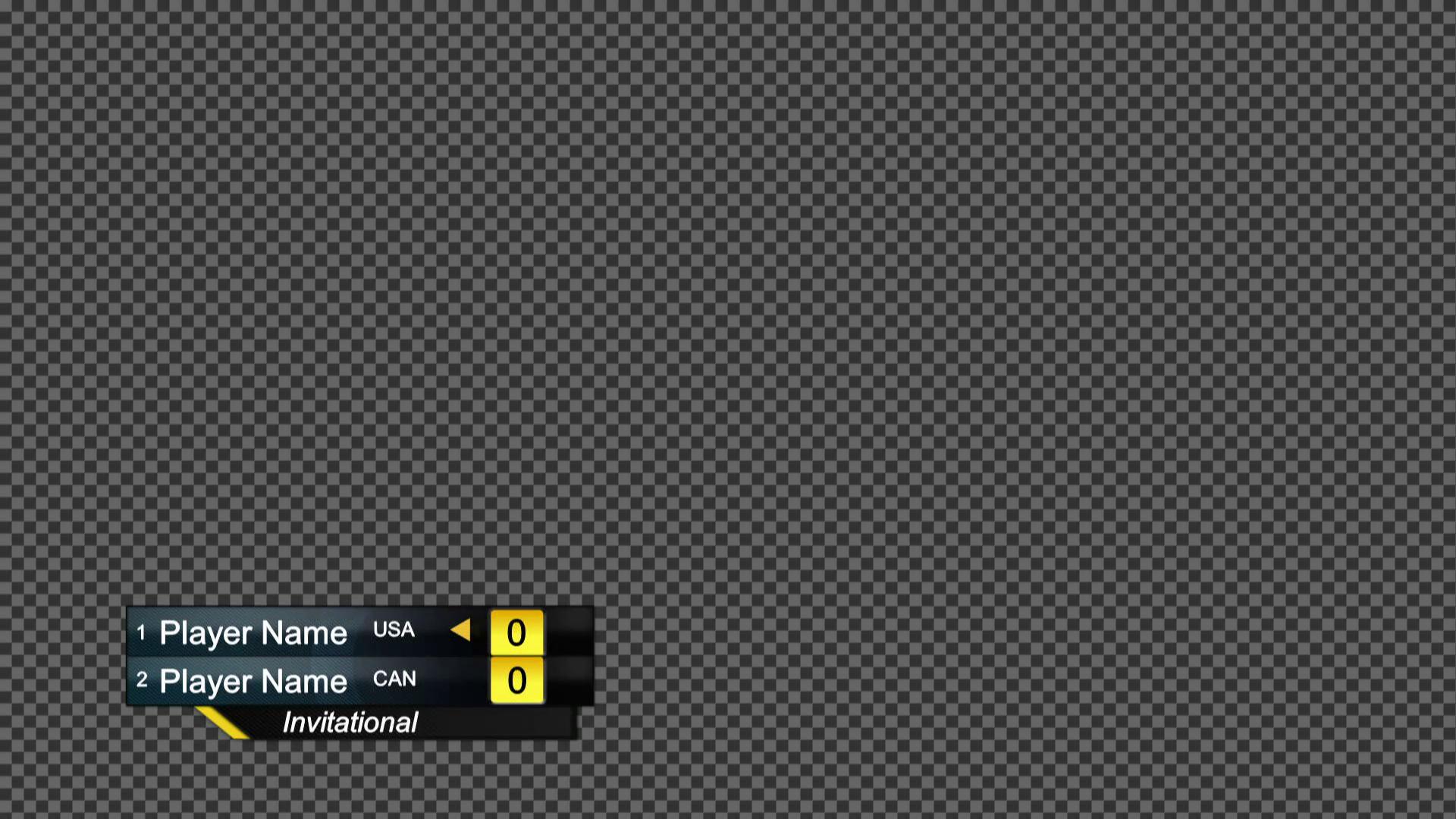 Livestream Studio™ | Scoreboard: Tennis